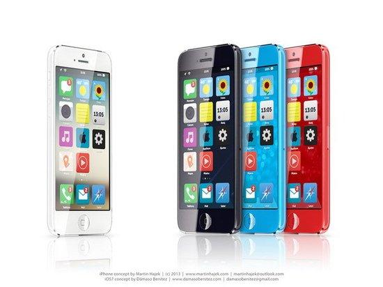 被称为苹果iPhone mini的廉价版iPhone不仅传闻颇多,而且连荷兰著名概念设计师 Martin Hajek也带来了他的最新概念设计。与此前的传言一样,这位设计大师的iPhone mini的概念作品中,这款苹果新机也配备了4英寸触控屏和iOS 7系统,并且有着多种色彩款式可选。       六边形摄像头   在荷兰著名概念设计师Martin Hajek的苹果iPhone mini概念设计中,这款新机的正面将采用和目前iPhone 5一样的设计,并且同样配备的是4英寸触控屏,但不同的地方则是苹果