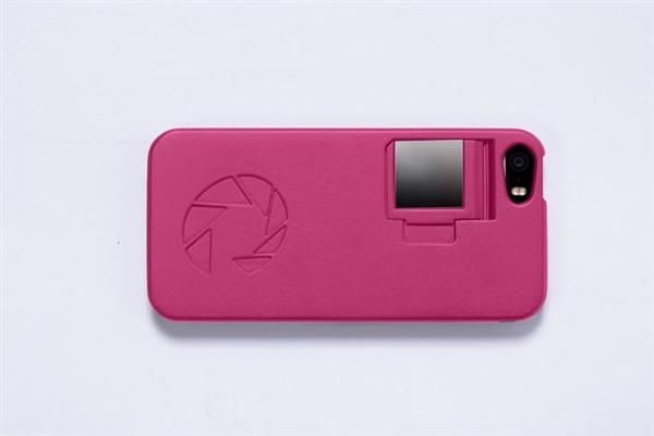 比自拍棒更好用:iphone自拍手机壳