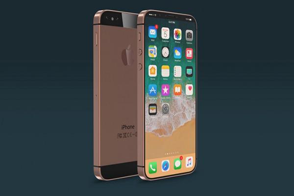 全新iphone se概念渲染:iphone x风格无边框屏幕