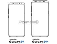 三星Galaxy S9渲染图曝光:双摄+指纹垂直排列