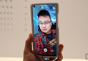 荣耀 V20 也是款挖孔屏手机