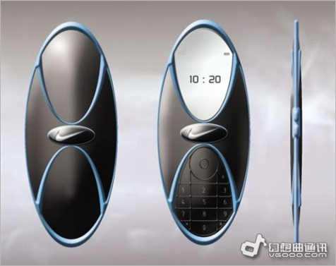造型设计很拉风 前卫nike概念手机设计曝光
