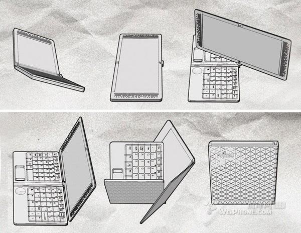 两款颠覆你逻辑思考的笔记本电脑概念设计